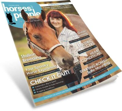 Horses and People Magazine October 2018 print issue