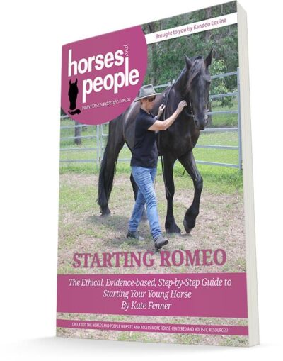 Starting Romeo Complete Series e-Book Cover. Starting a horse