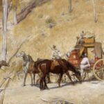 Bailed Up by Tom Roberts Legends of the bush
