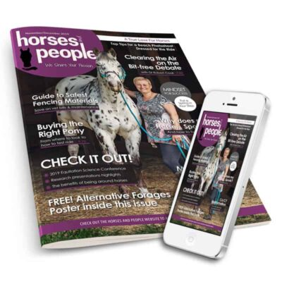 Horses and People Magazine print and digital