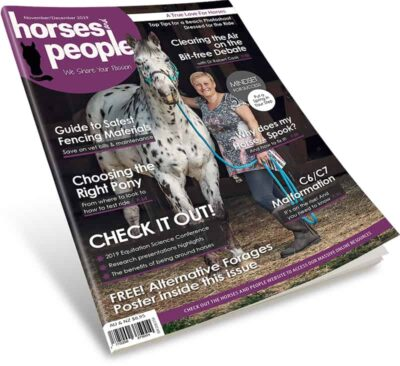 Horses and People November-December 2019 magazine.