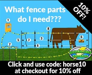 horse10 discount electric fence