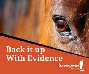 Back it up With Evidence through Horses and People