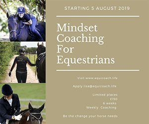 Mindset Coaching for Equestrians