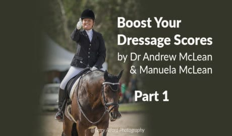 Dressage horse learning theory