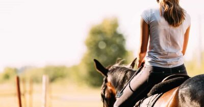 girl riding horse. Being good enough. external validation. public opinion and horse sport