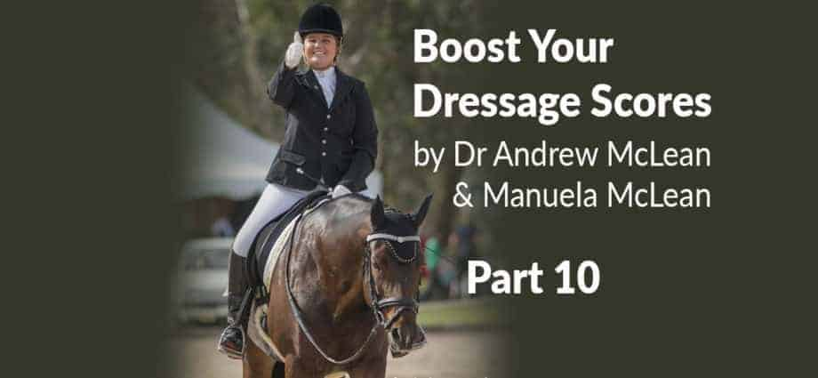 Dressage Training Learning Theory. Riding the test