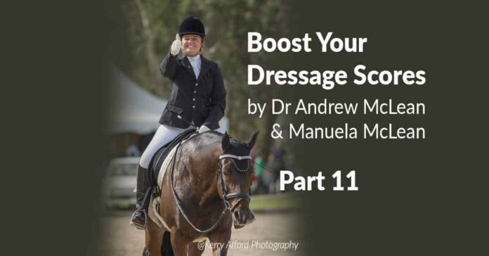 Lateral Movements. Boost your dressage scores. Shoulder in, Travers and Renvers