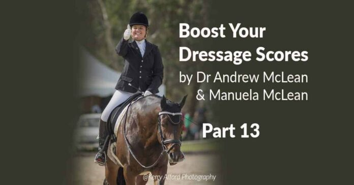 Boost your dressage scores. Counter Canter