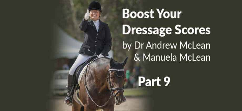 Dressage Training Learning Theory. Engagement