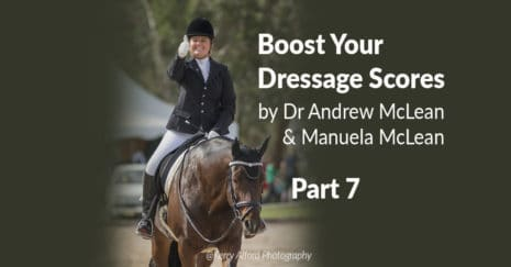 Dressage with learning theory. Straightness