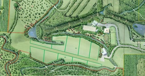 Equine Property Plan, Advanced paddock grazing, Property Layout. sub-dividing pastures
