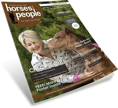 Horses and People September October 2019 magazine.