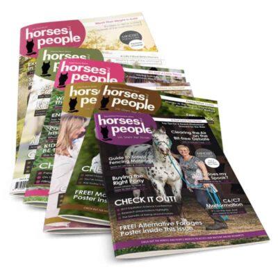 Horses and People Magazine annual subscription - 6 issues