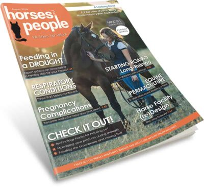 Horses and People Magazine August 2018 print issue