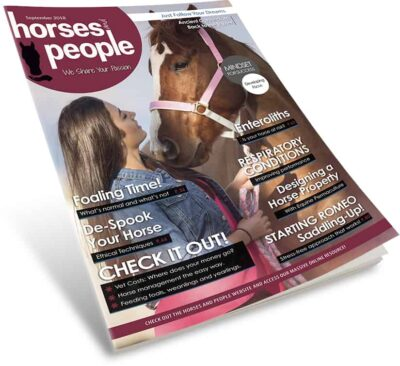 Horses and People Magazine September 2018 print issue