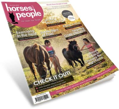 Horses and People Magazine January-February 2019 cover shot