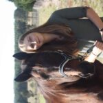 Alex Mullarky with her horse