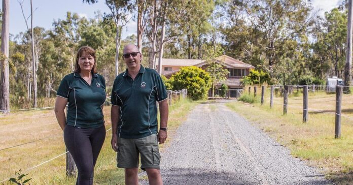 Jane and Stuart Myers outside their Queensland Home. Equicentral. The Horse Riders Mechanic, Equicentral It starts with knowledge