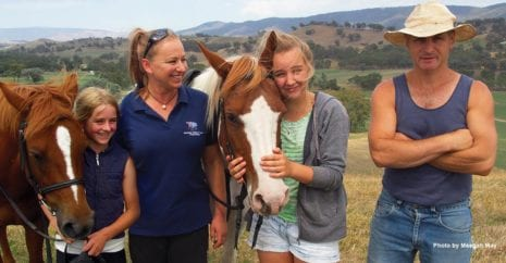The Bowe Family, Home, Family, Healing Horses