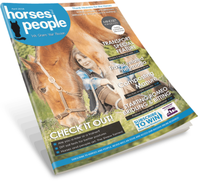 Horses and People April 2018 Magazine cover