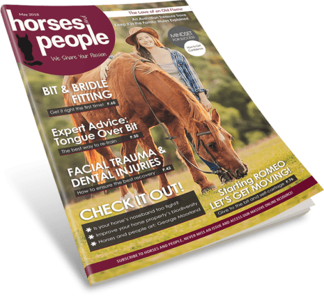 Horses and People Magazine May 2018 issue 3D cover