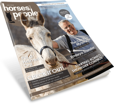 Horses and People Magazine June 2018 issue cover