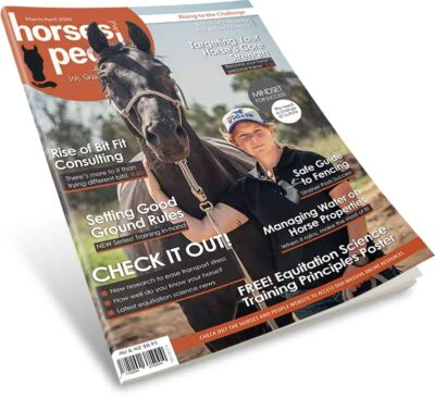 Horses and People Magazine March-April 2020 Issue 3D cover image