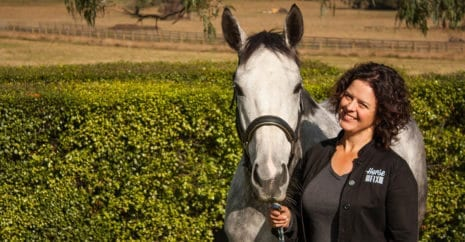 Ang Lea is an Australian Equine Bowen Therapist