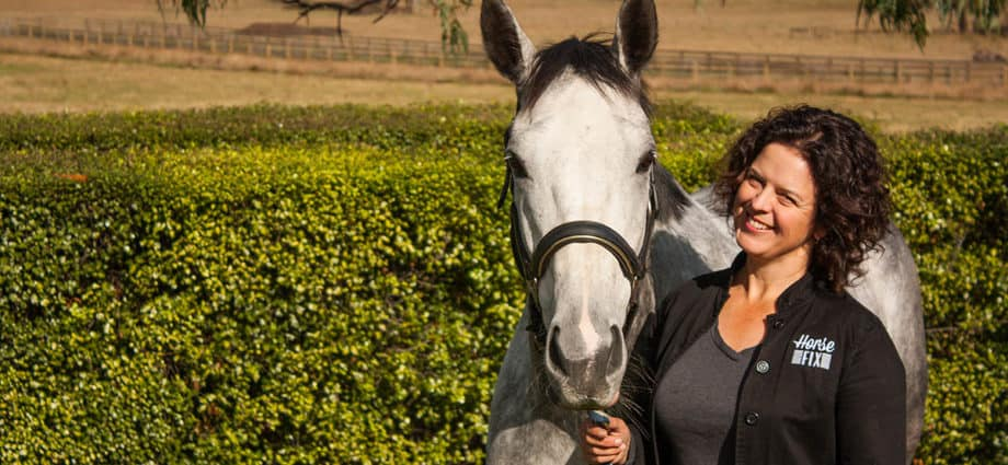 Ang Lea is an Australian Equine Bowen Therapist. Equine therapy
