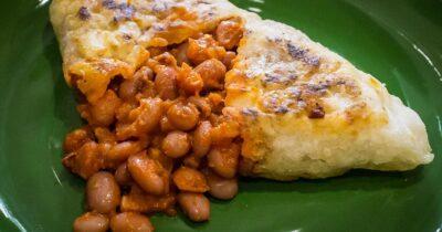 Breakfast Bean Pasties