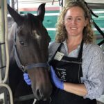 Dr Olivia James is a veterinarian with a special interest and training in equine dentistry