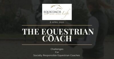 EquiCoach Lisa Ashton has launched the Equestrian Coach Challenge to support professionals through the coronavirus crisis