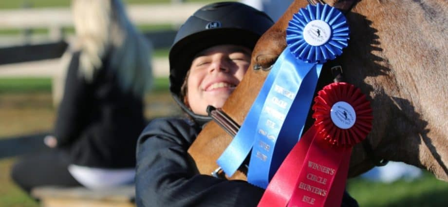 Online horse shows are allowing riders to compete during a lockdown