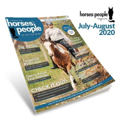 Horses and People Magazine July-August 2020 issue cover