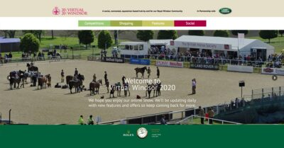 Royal Windsor Horse Show goes virtual in the face of the COVID-19 shutdown of events