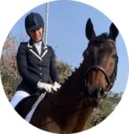 Gill Keegan is studying a diploma with Equitation Science International