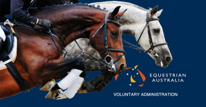 Equestrian Australia is under Administration
