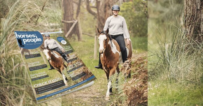 Louise Sedgman photography Horses and People July-August cover