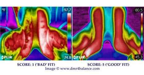Thermography a useful tool for saddle fit evaluation