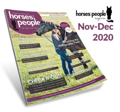 The November-December 2020 Horses and People Magazine