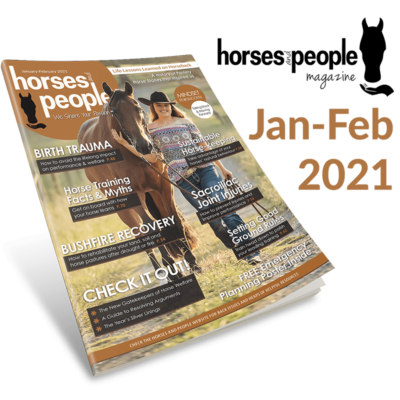 January-February 2021 Horses and People Magazine