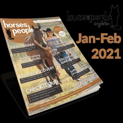 January-February 2021 Horses and People Magazine