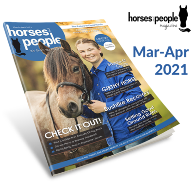 March-April issue of Horses and People