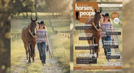 Horses and People Magazine January-February 2021 issue