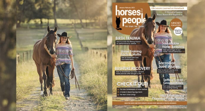Horses and People Magazine January-February 2021 issue