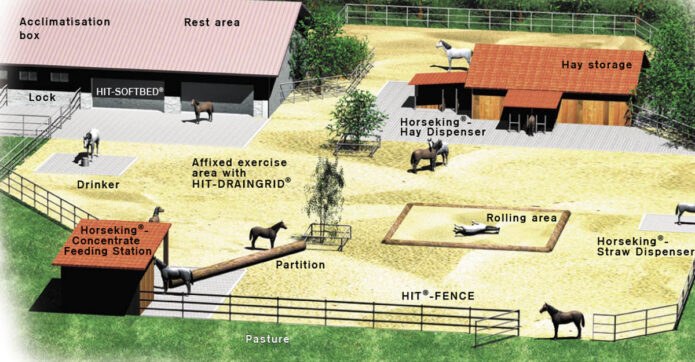 HIT Active Stables are designed to encourage movement