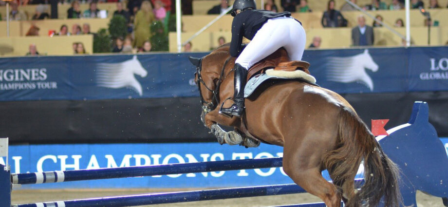 Showjumping at the Longines Global Tour