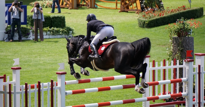 Elite showjumping at Aachen