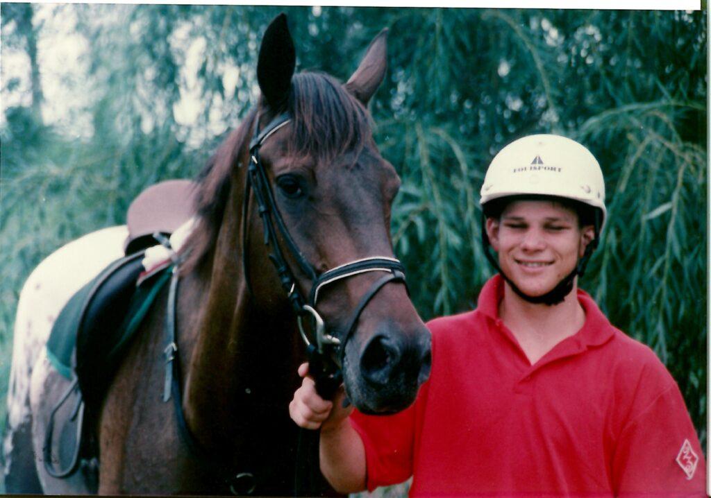 Australian Equestrian Olympian Shane Rose